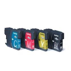 Cartuccia d'inchiostro compatibile Brother LC1100VALBP Multicolore