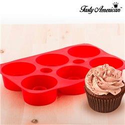 Tasty American Cupcake-Form aus Silikon