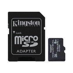 Scheda Di Memoria Micro SD con Adattatore Kingston SDCIT2/8GB 8GB