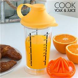 Cook Yolk & Juice Mixglass mit Saftpresse