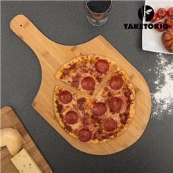 Tabla para Pizza de Bambú TakeTokio