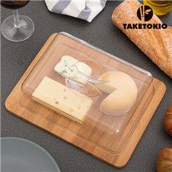 Cloche à Fromage en Bambou TakeTokio