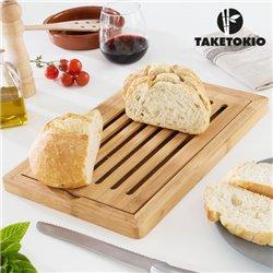 Tábua de Bambu para Cortar Pão TakeTokio
