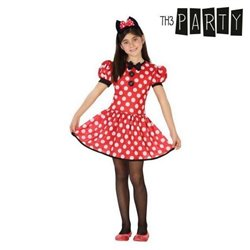 Costume per Bambini Topina Minnie Mouse 3-4 Anni