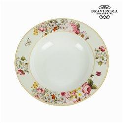 Tigela white bloom - Kitchen's Deco Coleção by Bravissima Kitchen