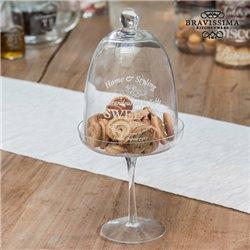 Campânula de Vidro para Bolos Bravissima Kitchen