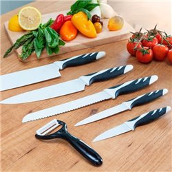 Couteaux Cecotec Top Chef Blanc C01023 (6 pièces)