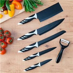 Cecotec Messer Top Chef Black C01024 (6-teilig)