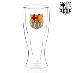 Copo de Cerveja com Fundo Duplo F.C Barcelona