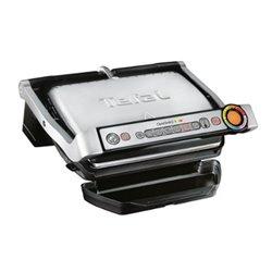 Tefal OptiGrill + GC712D 2000 W Grill Electric Tabletop Titanium