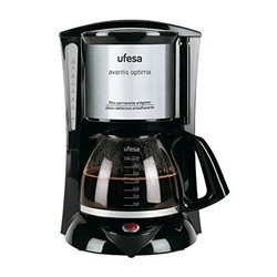 Drip Coffee Machine UFESA CG7232 Avantis 70 800W Black Grey Inox