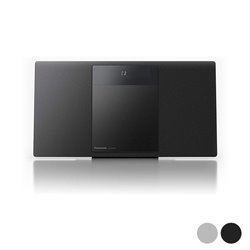 Mini impianto Stereo Panasonic Corp. SC-HC410EG Bluetooth 40W Argentato