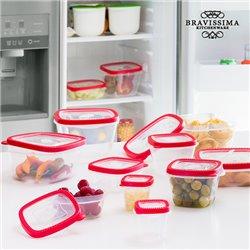 Recipientes para Comida Bravissima Kitchen (24 peças)