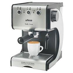 Manuelle Express-Kaffeemaschine UFESA CE7141 1,5 L 15 bar 1050W Schwarz Silberfarben Rostfreier Stahl
