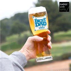 Bicchiere da Birra Best Dad Gadget and Gifts
