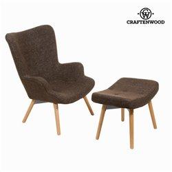 Stuhl mit fußstützte by Craftenwood