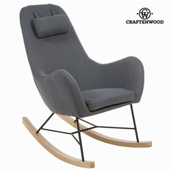 Rocking Chair Cloth Grey by Craftenwood