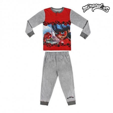 Lady Bug Pijama Infantil 72283 Gris 10 Años