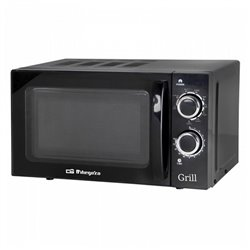 Micro-ondes avec Gril Obergozo MIG2031 20 L 700W Noir