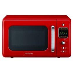 Retro-Mikrowelle Daewoo KOG-6LBR 20 L 800W Rot