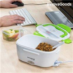 InnovaGoods Portavivande Elettrico 40W Bianco Verde