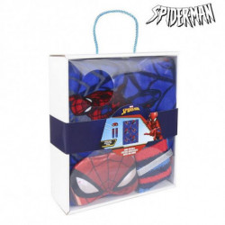 Spiderman Blanket, Socks and Eye Mask 79490