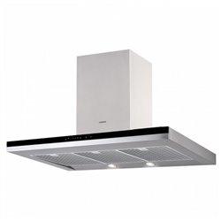 Nodor Hotte standard 130W 820m3/h Inox LED Acier
