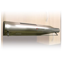 Conventional Hood Nodor 60I 1809 60 cm 180 m3/h 45 dB 125W Stainless steel