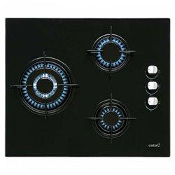 Plaque au gaz Cata CI6021BK (60 cm) Noir (3 Cuisinière)