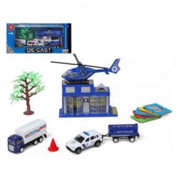 Set de Policía Vehículos y Accesorios 118848