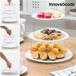 Pratos Dobráveis Rotativos InnovaGoods