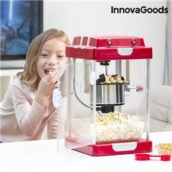 Machine à Pop-Corn Tasty Pop Times InnovaGoods 310W Rouge