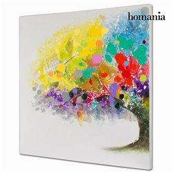 Peinture à l'huile arbres en couleur by Homania