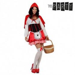 Disfraz para Adultos Caperucita roja (3 Pcs) XS/S