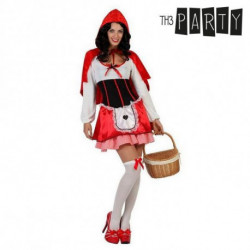 Disfraz para Adultos Caperucita roja (3 Pcs) M/L