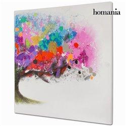 Cadre Huile Toile (100 x 100 x 4 cm) by Homania