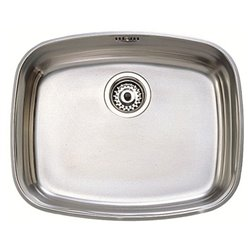 Sink with One Basin Teka 10125001 BE-50.40 Stainless steel