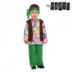 Verkleidung für Babys Hippie (3 Pcs) 6-12 Monate