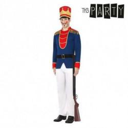 Verkleidung für Erwachsene Soldat (4 Pcs) XL