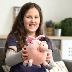 Peluche Petit Cochon avec des Ailes Little