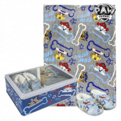 The Paw Patrol Metal Box with Blanket and Slippers 73671 5-6 Years