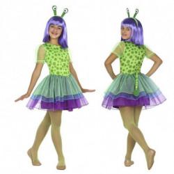 Verkleidung für Kinder Alien (3 Pcs) Grün 10-12 Jahre