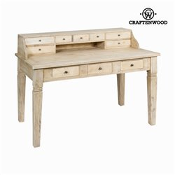 Desk Mindi wood (135 x 75 x 100 cm) - Pure Life Collection by Craftenwood