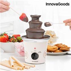 Fuente de Chocolate Sweet & Pop Times InnovaGoods 70W Blanco Acero