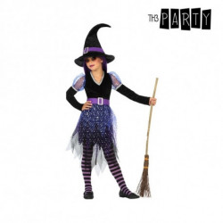 Costume for Children Witch Purple (3 Pcs) 5-6 Years