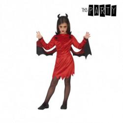 Fantasia para Crianças Demónia Vermelho (3 Pcs) 3-4 Anos