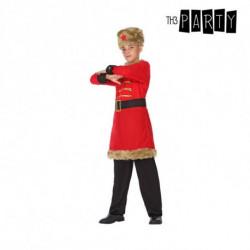 Costume per Bambini Russo (4 Pcs) 7-9 Anni