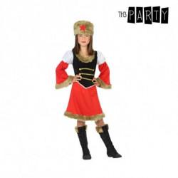 Costume per Bambini Russa (2 Pcs) 5-6 Anni