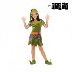 Costume per Bambini Folletto Verde (5 Pcs) 5-6 Anni