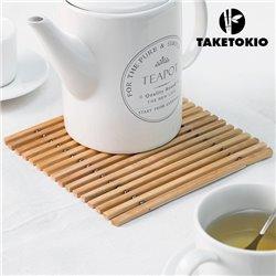 Salvamanteles Flexible de Bambú TakeTokio